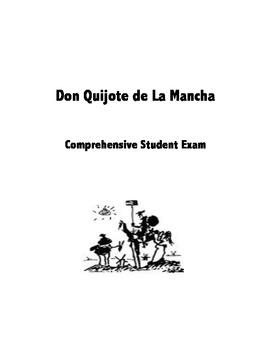 Don Quijote de la Mancha exam