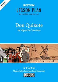Don Quixote Activities: Summarize the Plot, Themes & Symbolism, Character Map