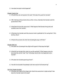 Don Quixote Discussion Questions
