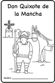 Don Quixote Spanish Printable Minibook
