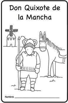 Don Quixote Spanish Printable Minibook