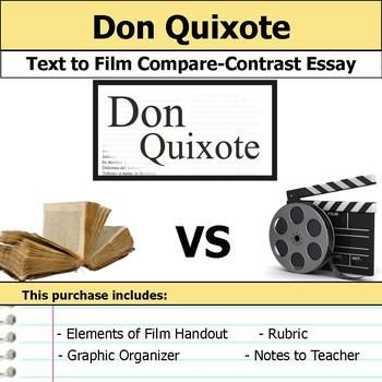 Don Quixote - Text to Film Essay Bundle