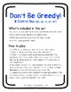 Don't Be Greedy: R Control DUO (Words AND Sentences) Phonics Game