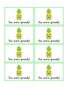 Don't Be Greedy: VCe Words Phonics Review Card Game