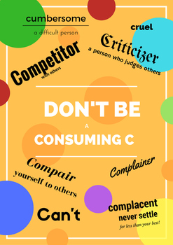 Don't Be a Consuming C