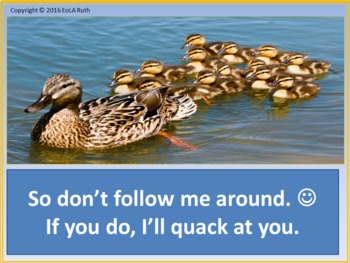 Don't Be a Duck: A Classroom Management Technique that Works