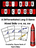 Don't Break the Crayons: Long O Game (Differentiated)