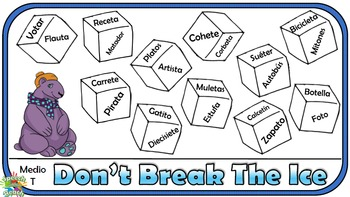 Don't Break the Ice Articulation English and Spanish