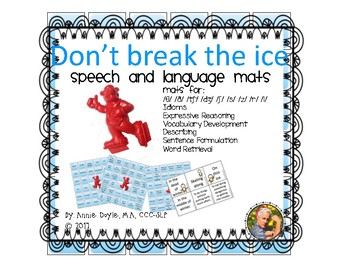 Don't Break the Ice Mats for Speech and Language