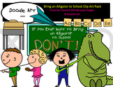 Don't Bring an Alligator to School Clipart Pack
