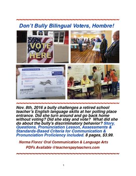 Don't Bully Bilingual Voters, Hombre!