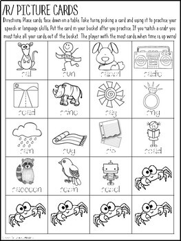 Don't Catch the Crab! {A Speech and Language Activity}