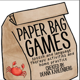 Paper Bag Games: Don't Catch the Crab!