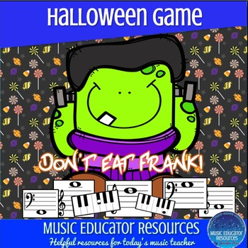 Don't Eat Frank; A Music Note Review Game