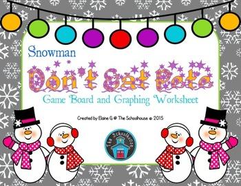 Don't Eat Pete Game - Snowman