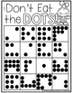 Don't Eat the Dots!-Practice Subitizing Numbers 1-10