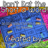 Don't Eat the Short a Word! Differentiated Practice Reading words with short a