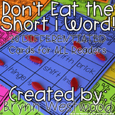 Don't Eat the Short i Word! Differentiated Practice Reading words with short i