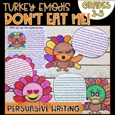 Don't Eat the Turkey Persuasive Writing Project