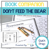 Don't Feed the Bear Book Companion:  Speech and Language Therapy