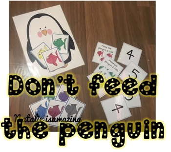 Don't Feed the Penguin game - Number Recognition
