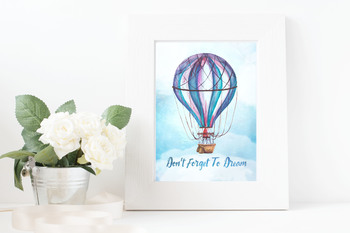 Don't Forget To Dream - Digital Print and Clipart