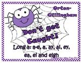 Don't Get Caught: Orton Gillingham Long a: a-e, a, ay, ai,