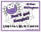 Don't Get Caught: Orton Gillingham Long i: i-e, i, igh, ie, y-e, & y