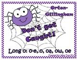 Don't Get Caught: Orton Gillingham Long o spellings: o_e,