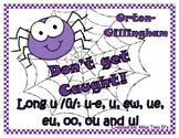 Don't Get Caught: Orton Gillingham Long u /ü/: u-e, u, ew,