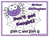 Don't Get Caught: Orton Gillingham Soft C and Soft G