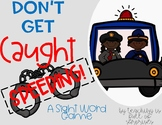 Don't Get Caught Speeding- A Sight Word Game Using Dolch Word Lists