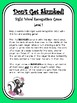 IRLA Aligned Don't Get Skunked Sight Word Recognition Game - Level 1