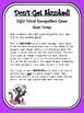 Don't Get Skunked Sight Word Recognition Game - Short Vowels