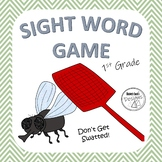 Don't Get Swatted! Sight Word Reading Game - First Grade Level