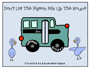 Don't Let The Pigeon Mix Up The Nouns