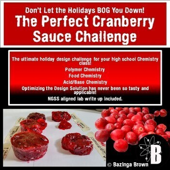 Don't Let the Holidays Bog You Down!  The Cranberry Sauce Challenge