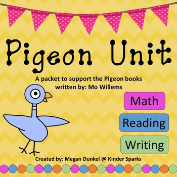 Pigeon Packet ... A Mo Willems MEGA Activity Pack
