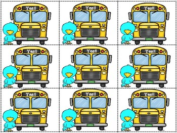 Don't Let the Pigeon Drive the Bus Activity Pack (Craft Included!!)