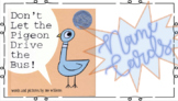 Don't Let the Pigeon Drive the Bus Name Cards