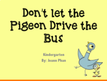 don t let the pigeon drive the bus vocabulary words ppt and pdf by