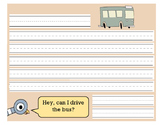 Don't Let the Pigeon Drive the Bus Writing Template
