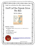 Don't Let the Pigeon Drive the Bus by Mo Willems  Shared Reading  Daily Five
