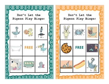 Don't Let the Pigeon Play Bingo! (Mo Willems)