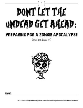 Don't Let the Undead Get Ahead!