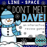 Don't Melt Dave! (Line/Space) an Interactive Music Concept