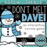 Don't Melt Dave! (Treble) an Interactive Music Concept Rev