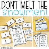 Don't Melt the Snowmen Game
