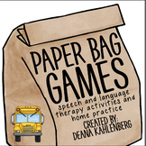 Paper Bag Games: Don't Miss the Bus!