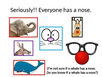 Don't Pick Your Nose, Some Rules About Your Nose